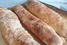 Ciabatte brød