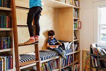 Children Room Library