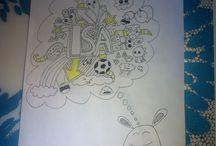 Zelf getekend / Mijn tekeningen