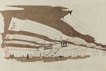 NUOVA STAZIONE FF.SS., PESCARA / Pescara – 1968 Architettura: Aldo Favini Strutture: Aldo Favini
