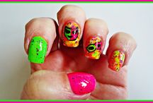 Carnaval con Masglo / Nail Art,manicuras