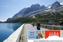 Roteiros para motociclistas / Dolomitas! Para os apaixonados por motos, criamos roteiros exclusivos onde poderão apreciar esse espetáculo da natureza!