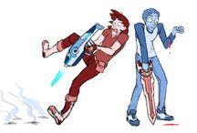 VOOOOOLLLTRRROOOONNN / GAYS IN SPACE YO!!!!!!