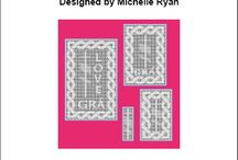 Crochet - Filet / Crochet chart - Filet