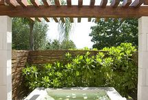 Spa and Deck ideas / by Fiona Hatcher