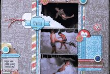 Layouts 2014 / Scrap creations, layouts only