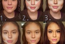 Contour and make up