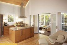 K + R kitchens / kitchens designed by Kuklinski + Rappe Architects