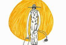 Paula Weinberg_NaiveBlackLinedIllustrations