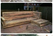 Design. DIY Projects.  Pallet Patio Furniture...