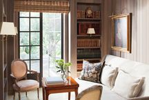Inspiration-Office and Library Decor / office ideas, french country office, french office, library, library office, french country, french country decor, french decor, romantic decor, french country decorating, french home, home decor, cottage decor, french style, home decor, Swedish decor