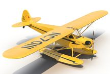 Aircraft 3D Models / 3D Models of Planes Helicopters Aircrafts