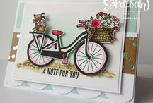 Stampin up bike ride