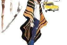 móda + kresby oblečení