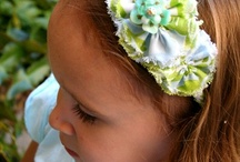 Hair bows, Hats, & Flowers / by Stubbornly Crafty