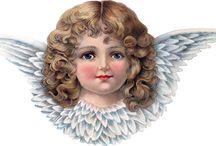 Glanzbilder Engel
