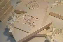 partecipazioni di matrimonio  in scatola