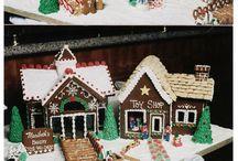 **< [: c] Gingerbread houses [o :] >**