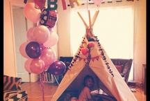 Sawyers teepee party