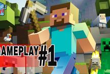 Minecraft on the PS4 / Minecraft gameplay videos on the PlayStation 4 / by COIN-OP TV