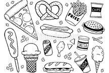Rysunki jedzenie