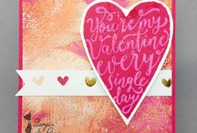 Anniversary, Love and Valentine Projects / Papercraft projects for anniversaries, love, marriage, and Valentine's Day.  Projects are made using Stampin' Up! products.