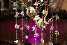 Manzanita Branches Wedding Flowers