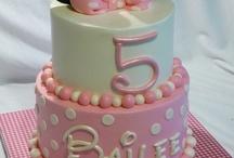 Girls themed cakes / Kiddies parties