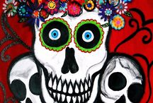 Day of the Dead-Skulls / by Patsy A. Griffith