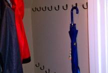 Coat racks & cupboards