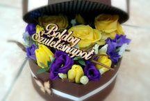 Virágdobozok - Flower boxes