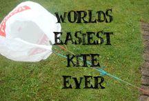 kites / by Peggy Krakeel