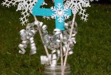 Disney Frozen birthday party / Disney Frozen girls birthday party and decoration ideas with Elsa & Anna decorations / by Lisa Barton Wisdom of the Old Ways