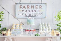 Owens first birthday! / by Destiney Smith