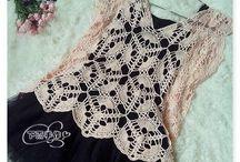 Lace / Pitsi / Items made of lace / Pitsimäistä kivaa
