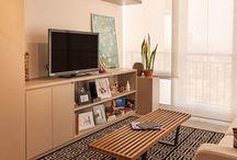 Sala planejada / Apostar em móveis planejados é a solução ideal para garantir a funcionalidade e beleza para esse ambiente tão acolhedor. Confira lindas inspirações de sala planejada!