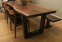 CottAge / Live edge dining table