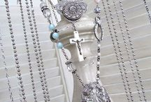 Jewelry Displays & Other Stylish Recycles / Repurposing old items / by Tee C. Royal