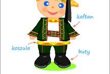 STRÓJ LUBELSKI / Barwny strój lubelski, zwany też krzczonowskim, jest dziś najbardziej znanym ubiorem ludowym Lubelszczyzny.