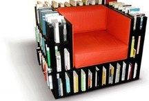 Book Storage & More / Often in plain sight is the best solution. Always within reach is the icing on the cake.