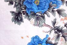 Flower_Blue Peony