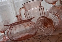 Pinks!  Depression Glass I Love / by Dreme Davis