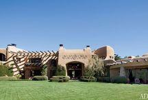 Звездный интерьер — Уилл Смит / Уилл Смит и его жена Джада, еще в 90-е годы заинтересовались саманными домами архитектора Стивена Семьюэльсона.