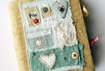 [fabric book&collage]