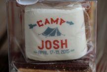 Camp Josh -Destination Bar Mitzvah Details / Camp Themed Destination Bar Mitzvah