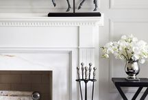 Fireplace mantlepieces