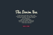 The Denim Bar / by Cook oficial