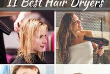 Hair Appliances / All about hair appliances including hair dryers, curlers, rollers, straighteners, crimpers, brushes, etc.