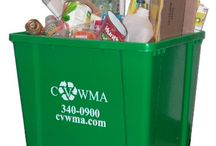 Recycling is Easy with CVWMA / CVWMA provides residential curbside recycling to 9 jurisdictions in Central Virginia. All programs collect the same items on what you can and cannot recycle. Have Questions? Visit CVWMA.com or call us at 804.340.0900