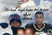trayvon martin / by Blessed